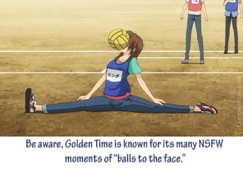 Anime Review, Rating, Rossmaning: Golden Time