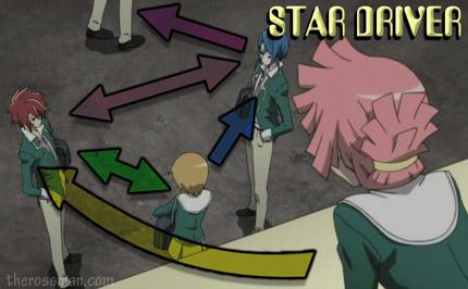 Star Driver anime