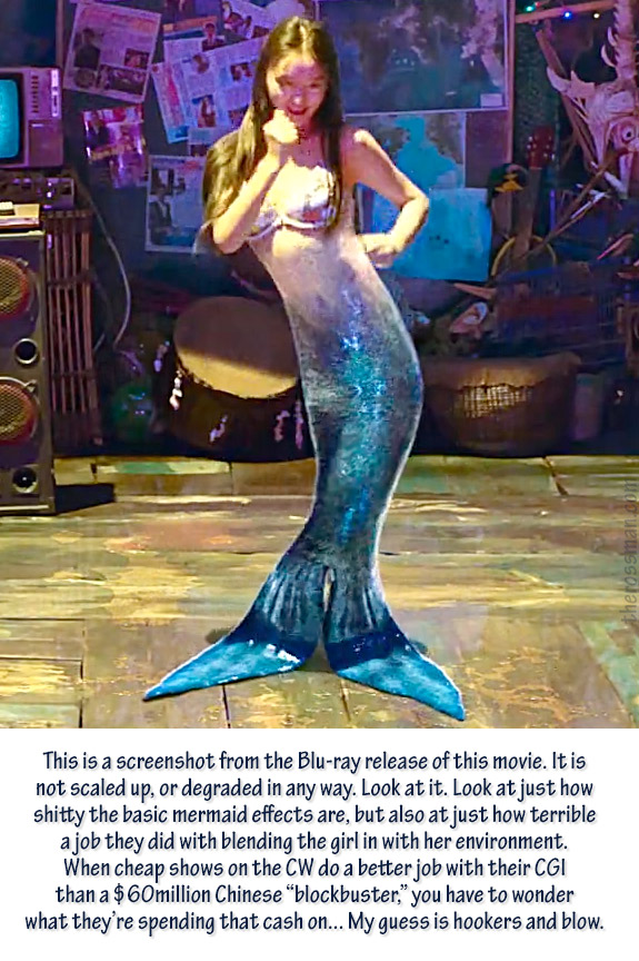 Movie Review Rating Rossmaning The Mermaid 2016 Stephen Chow